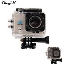 подводная камера Действий Камеры Ultra HD 4 К 170 Градусов Широкоугольный Спорт Водонепроницаемая камера 16MP WiFi Спорт Камера + 2.4 Г Беспроводной Пульт Дистанционного Управления 2930