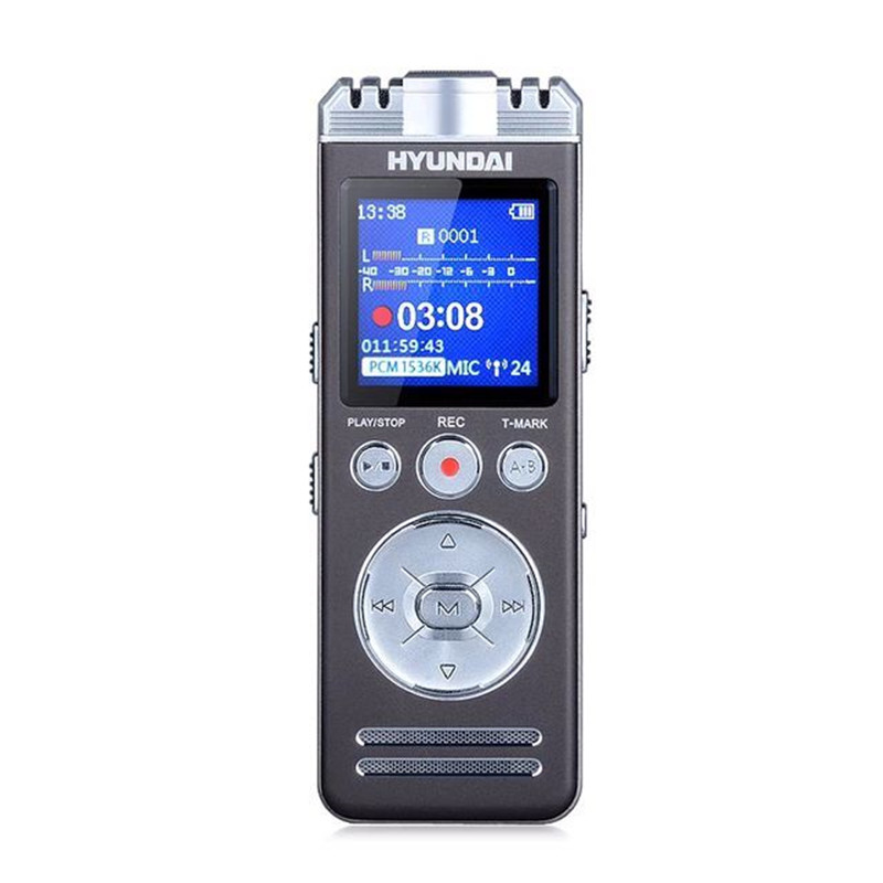 Yescool E66 High Quality Portable Conference Digital Voice Recorder Lossless Player Long-distance Clear Voice Support TF