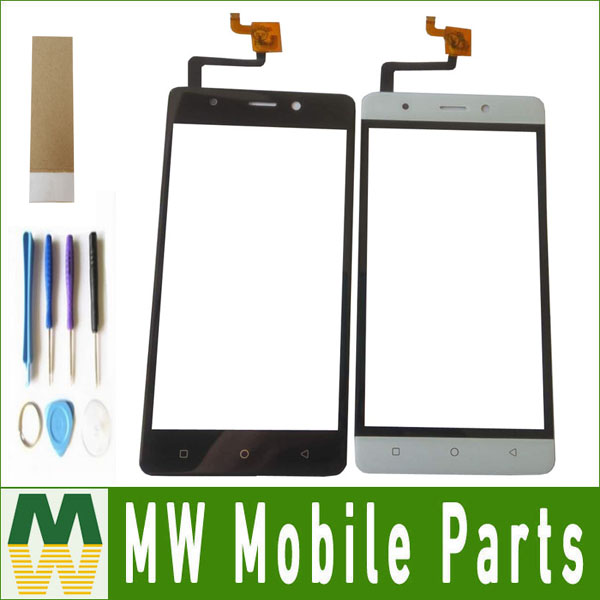 High Quality1PC/ Lot For BMM 532/532S Touch Screen Digitizer Replacement Part Black White Color with tools+tape