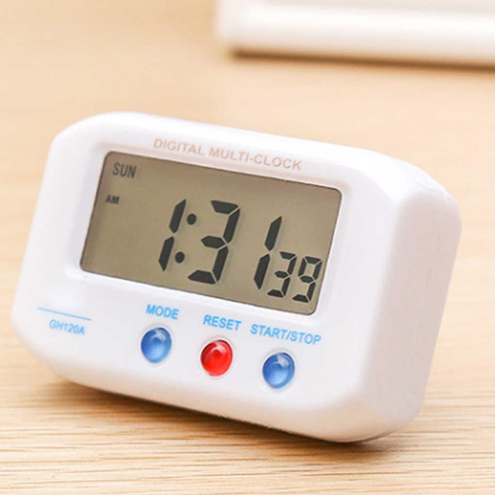 المحمولة سطح مكتب كهربائي المنبه الإلكترونية LCD شاشة بيانات الوقت تقويم مكتب ووتش