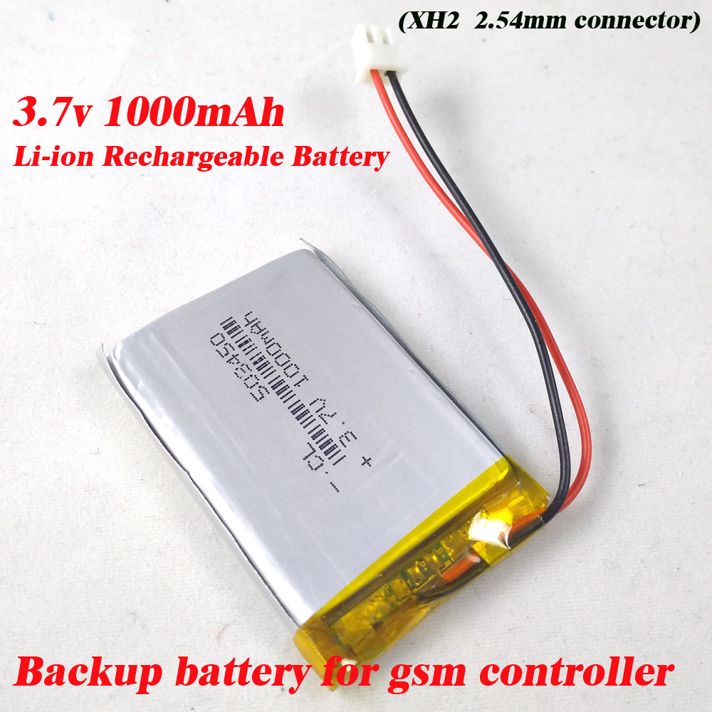 Free shipping 3.7V 1000mAh Battery li po Batteries Rechargeable ...