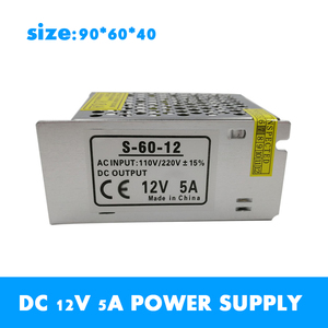 DC 12V Power Supply LED Strips Lighting Transformer Driver Switching SMPS Adapter AC 110~220V 2A 3A 6.5A 10A 15A 25A 30A 33A 42A