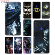 Batman DC Patterned Popular Soft Silicon TPU Case For Xiaomi Redmi Note 4 5 6 7 7Pro Redme S2 GO Gift Customized Coque Cover