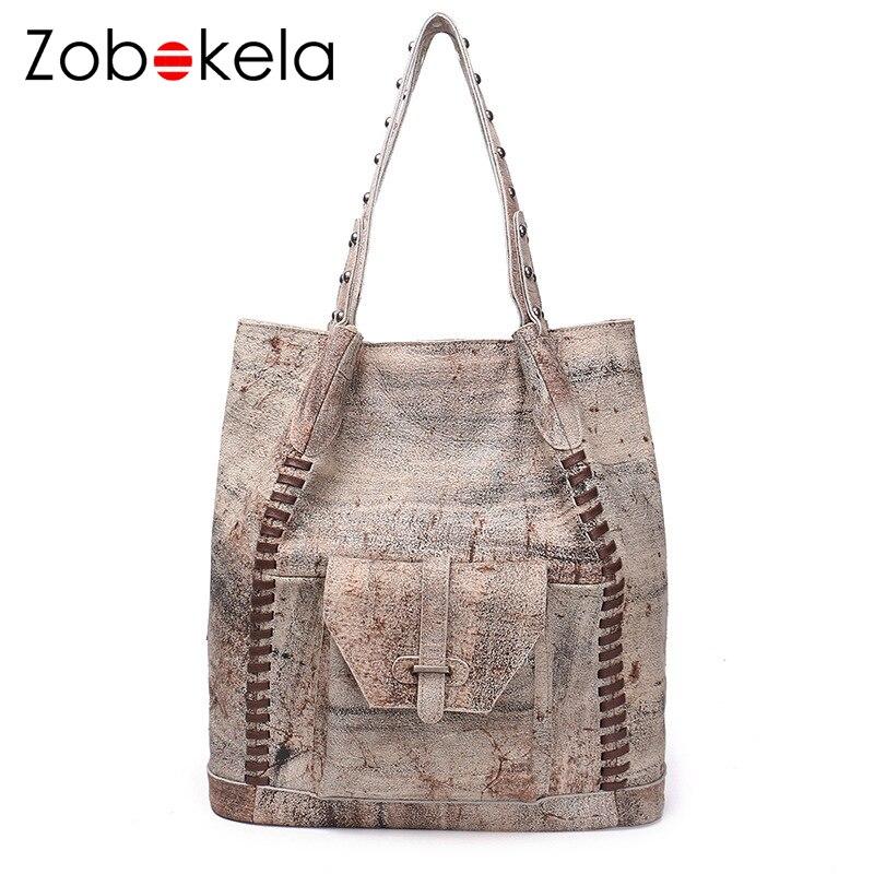 e30dd5fa17dd ZOBOKELA Bags For Women 2018 Luxury Handbags Bag Designer Female Ladies  Genuine Leather Clutch Famous Brand