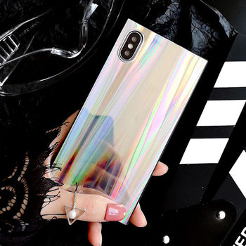 iPhone Xs Shining Colorful Case