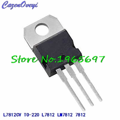 10pcs/lot L7812CV LM7812 L7812 7812 TO-220 In Stock