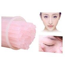 100 pcs Eyelid Fiber Tools  Invisible Double Fold Eyelid Shadow Sticker Tape Eye Makeup Device Safe Hot