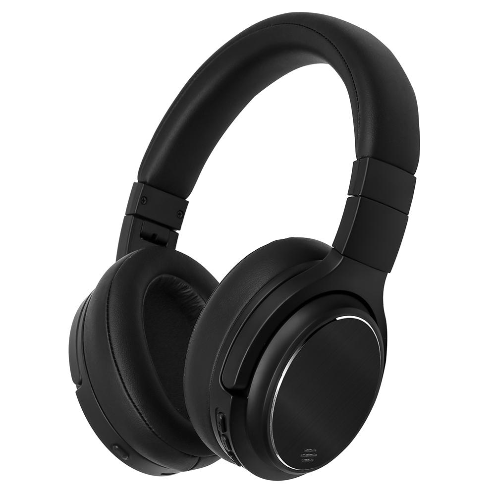New M1 Active Noise Canceling ANC Bluetooth Headset Sport Gaming Headphone Wireless Music Stereo for Game Vedio redragon h991 triton active noise canceling gaming headset 7 1 channel surround stereo anc over ear headphone with mircophone