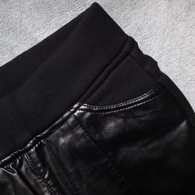 Nieuwe Punk Rave Fashion Black Hollow Out Gothic Stretchy Nauwsluitend Vrouwen Sexy Leggings Broek WK342BK - 4