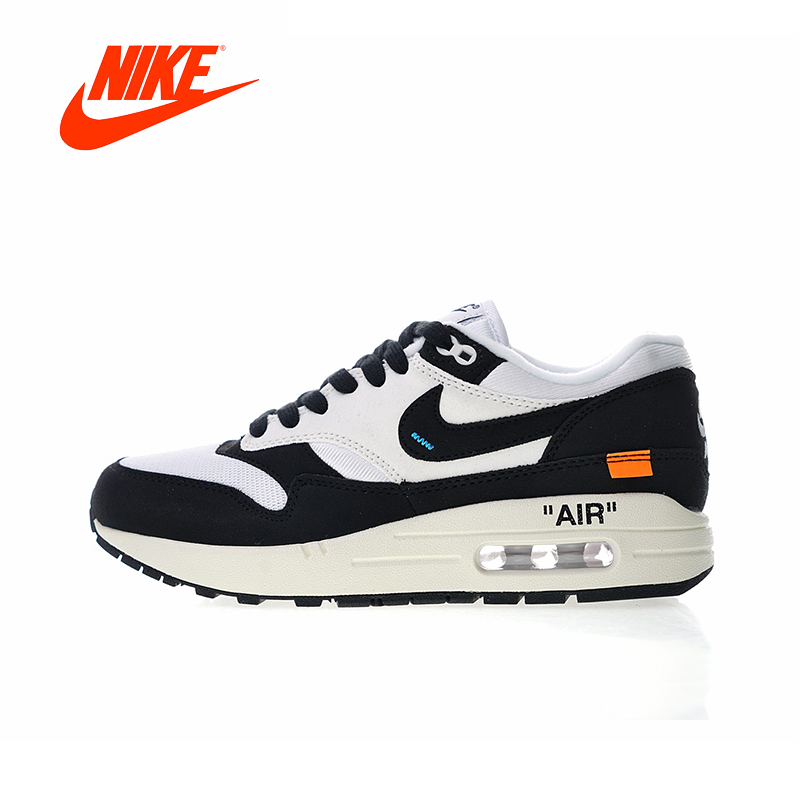 Original New Arrival Authentic OFF white x Nike Air Max 1 Men's Running Shoes Sport Outdoor Sneakers Good Quality AJ9986-109 original new arrival authentic off white x nike air max 97 menta men s running shoes sport sneakers good quality aj4585 101