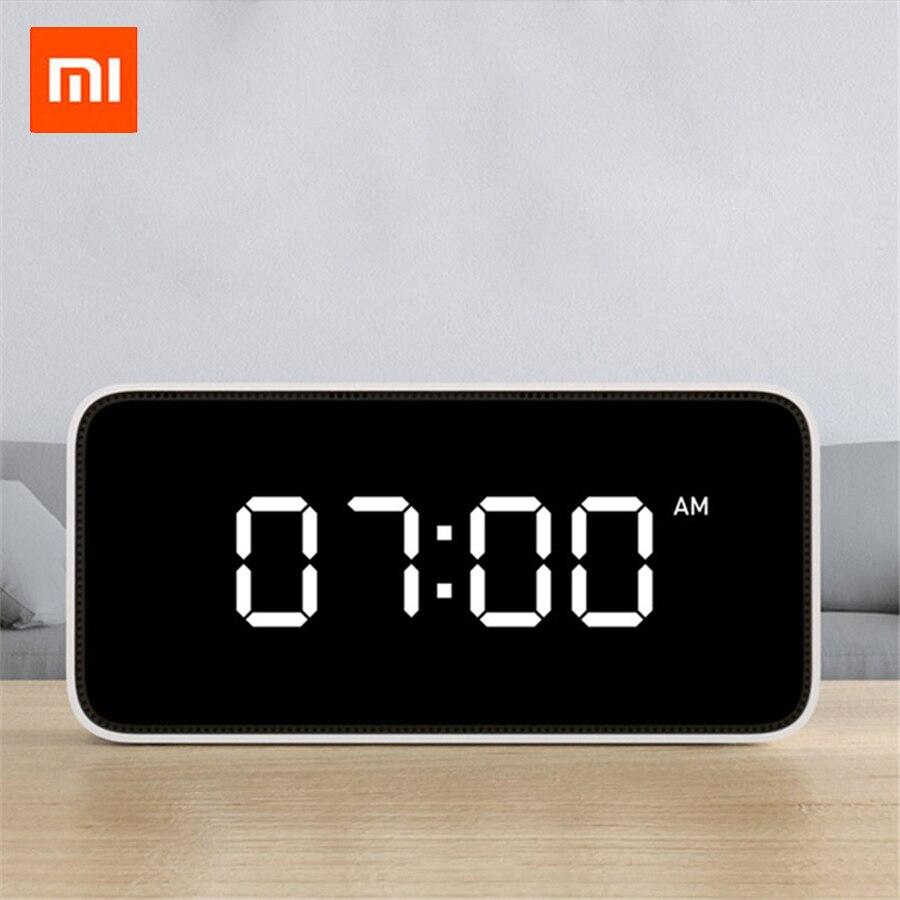 Оригинальный Xiao mi jia Xiaoai умный голосовой широковещательный, сигнал тревоги часы умный голос широковещательный, сигнал тревоги работа с mi Home ...