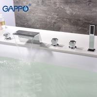 GAPPO bathtub faucet Basin faucet bathroom waterfall bath faucet deck mounted mixer tap rainfall bathtub faucet banho preorder