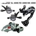 ALIVIO M4000 9S 27S Speed MTB bicicleta Grupo Conjunto 3 piezas con palanca de cambio y cambio delantero y trasero