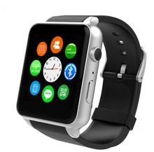 Gsm sim card bluetooth nfc smart watch gt88 com monitor de freqüência cardíaca esportes câmera smartwatch para android ios