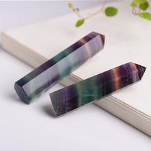 Natural Purple Fluorite Quartz Healing Crystal