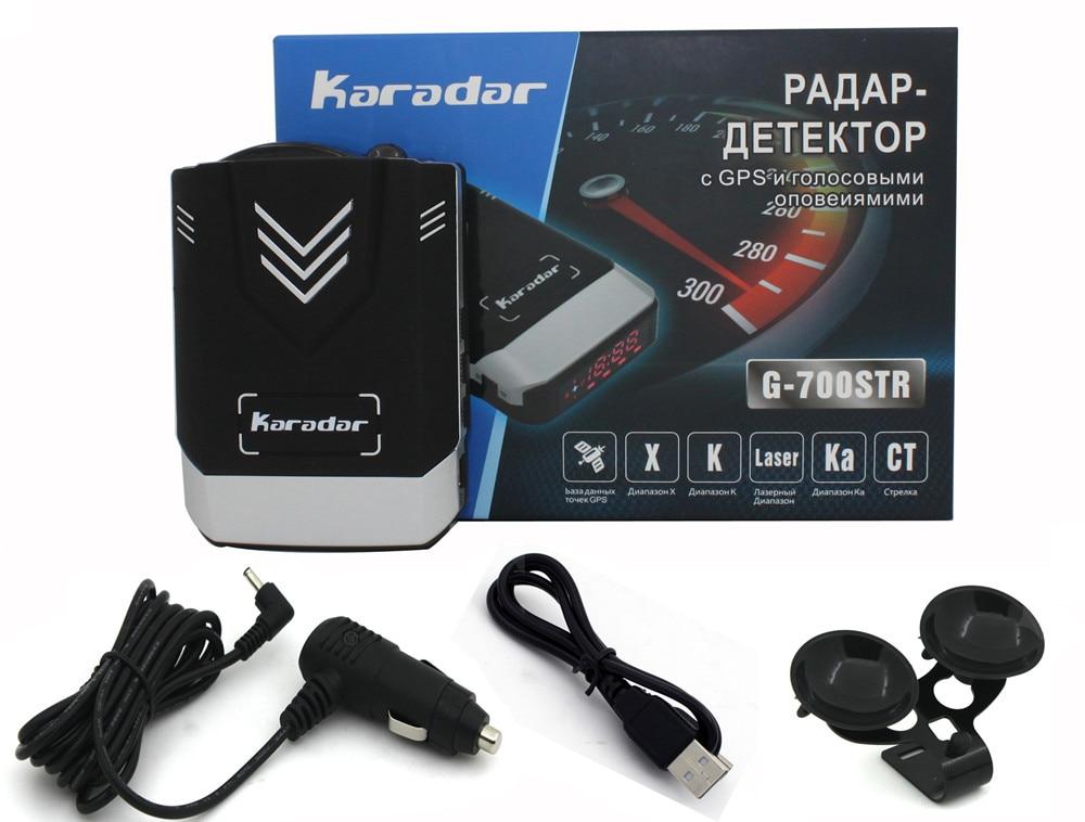 Auto-detektor 2017 anti radarwarner auto GPS Kombiniert Radarwarner Karadar G-700STR