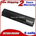 Jigu 5200 mah batería para hp pavilion dv2000 dv2700 dv6000 dv6700 dv6000z dv6100 dv6200 dv6300 dv6400 dv6500 dv6600 hstnn-lb42