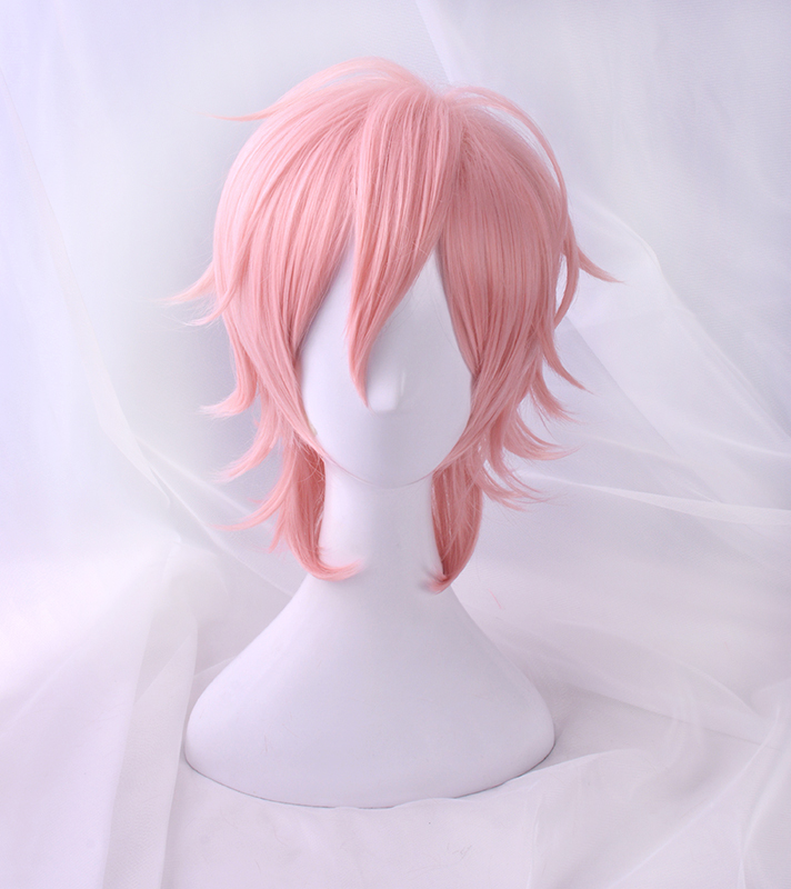 Image 4 - 2018 Anime Cosplay Yarichin Bitch Bu Club Ayato Yuri Pink Wig Cosplay Halloween  Role Playing-in Anime Costumes from Novelty & Special Use