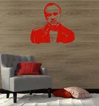 3D Poster Wall Stickers Vinyl Decal Mafia Godfather