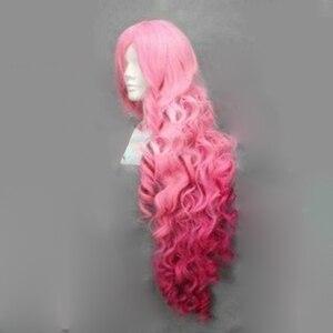 Image 5 - HAIRJOY Synthetische Haar Tsukimiya Ringo in Prinz von Song Cosplay Perücke Rot Rosa Ombre Lockige Perücken