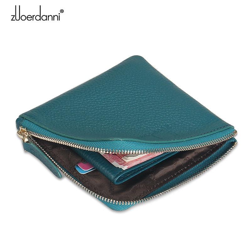 Kvinnors myntväska läder plånbok kvinnor mini plånbok koreanska - Plånböcker - Foto 3