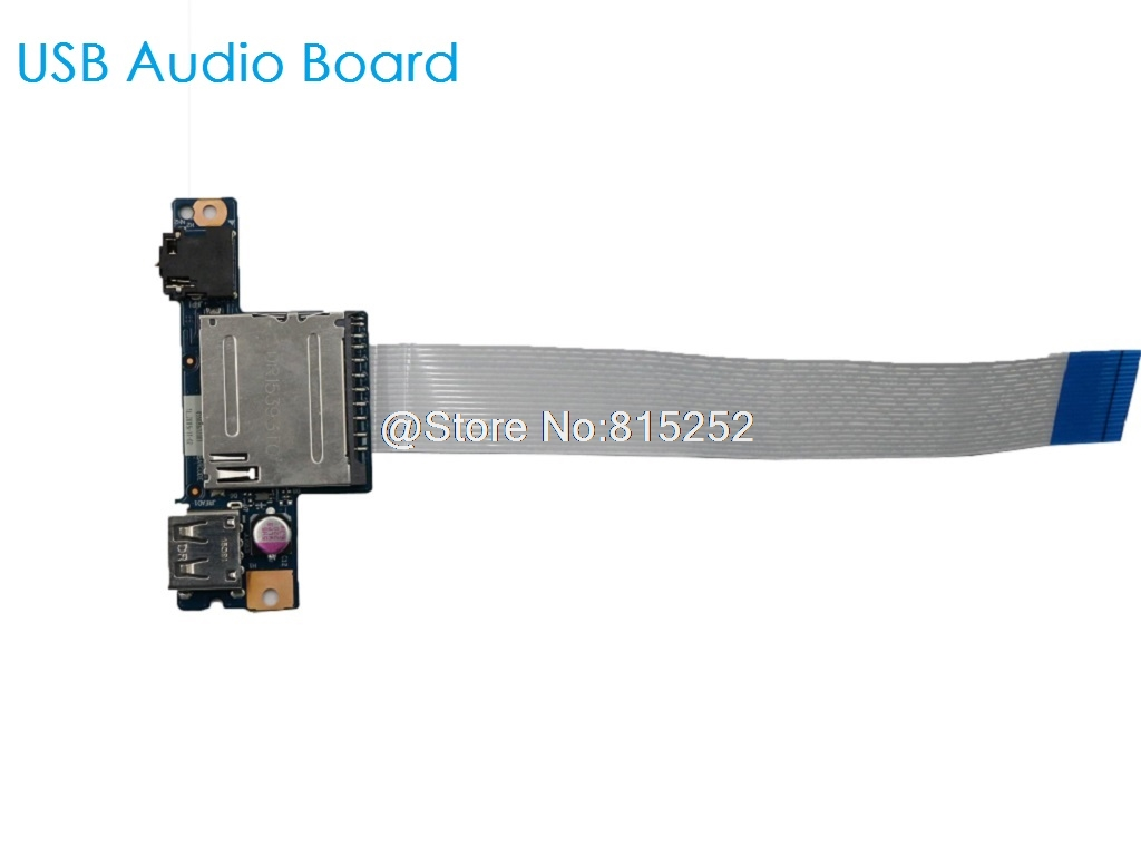 Laptop USB Audio Board For <font><b>Lenovo</b></font> G40-30 G40-70 Z40-70 G40-70 Z40-75 90005905 LCD Cable DC02001M600 DC02001M600 New Original image