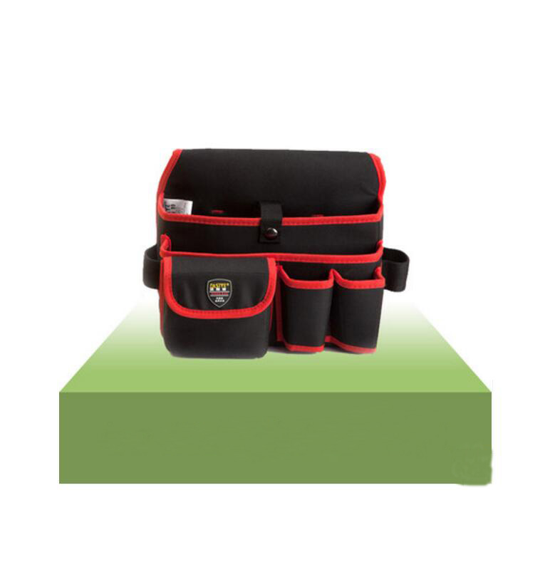 FASITE Multi-function Canvas Waist Tool Bag Home Appliance Installation Tool Pouch Red Free Shipping