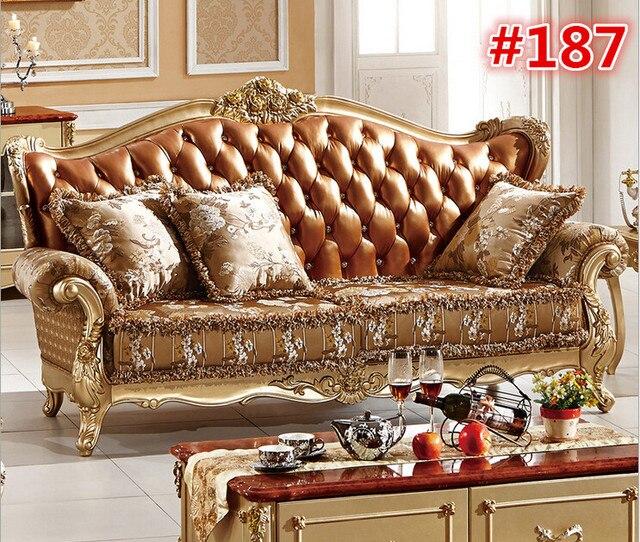 Cl ssico europeu sof de madeira com a m o que cinzela - Muebles italianos clasicos ...