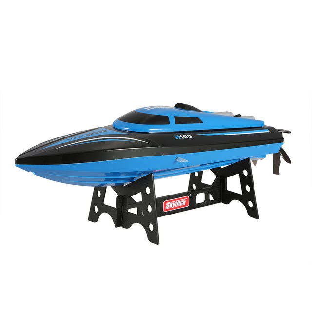 RC High SpeedBoat Electric Toys H100 RC Boat 2.4G Remote Controlled 180 Flip 20KM/H High Speed Motor RC Racing Boat Ship For Kid
