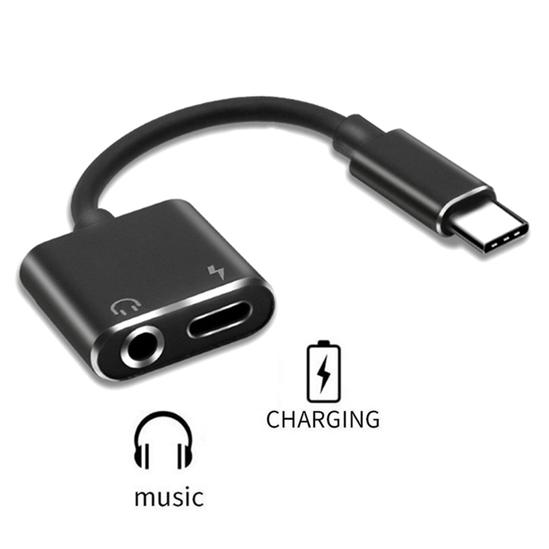 Data Cables New Headphone Audio Splitter Converter Popular Usb Type-c To 3.5mm Jack Aux Adapter Cable Multicolor High Quality #y8