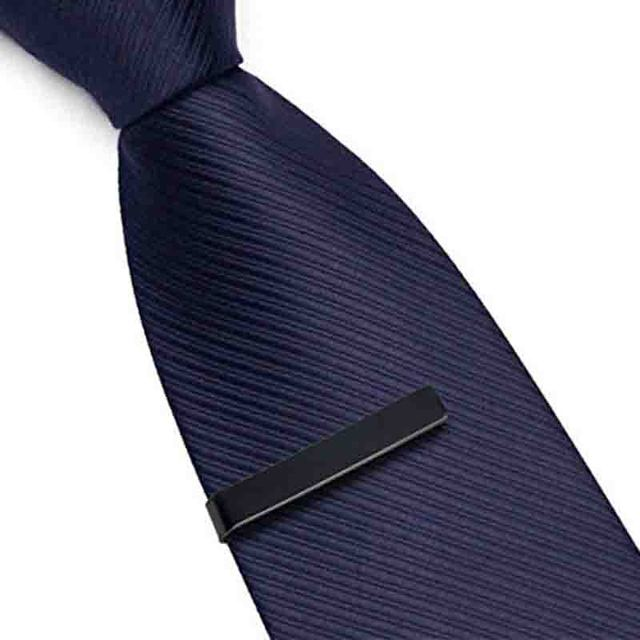 Mdiger Mixed 3 Ties Clasp Bar Pins Men's Stainless Steel Shirt Tie Clips Skinny Clamp Necktie Pin