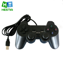2016 Hot Sale USB Vibration Shock PC Computer Gamepad Game Controller for Playstation 3 PS3 Joystick New