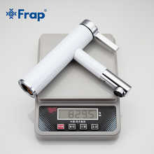 Frap New Arrival White Spray Painting Basin Taps Bathrooms Crane Torneira with Aerator 360 Free Rotating F1052-14.