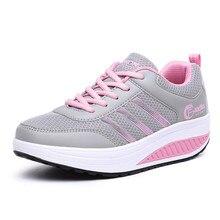 แฟชั่นผู้หญิงรองเท้าลำลอง2016มาใหม่ผู้หญิงลูกไม้ขึ้นรองเท้ากีฬาลำลองแฟชั่นฤดูใบไม้ผลิ/ฤดูใบไม้ร่วงผู้หญิงระบายอากาศรองเท้า