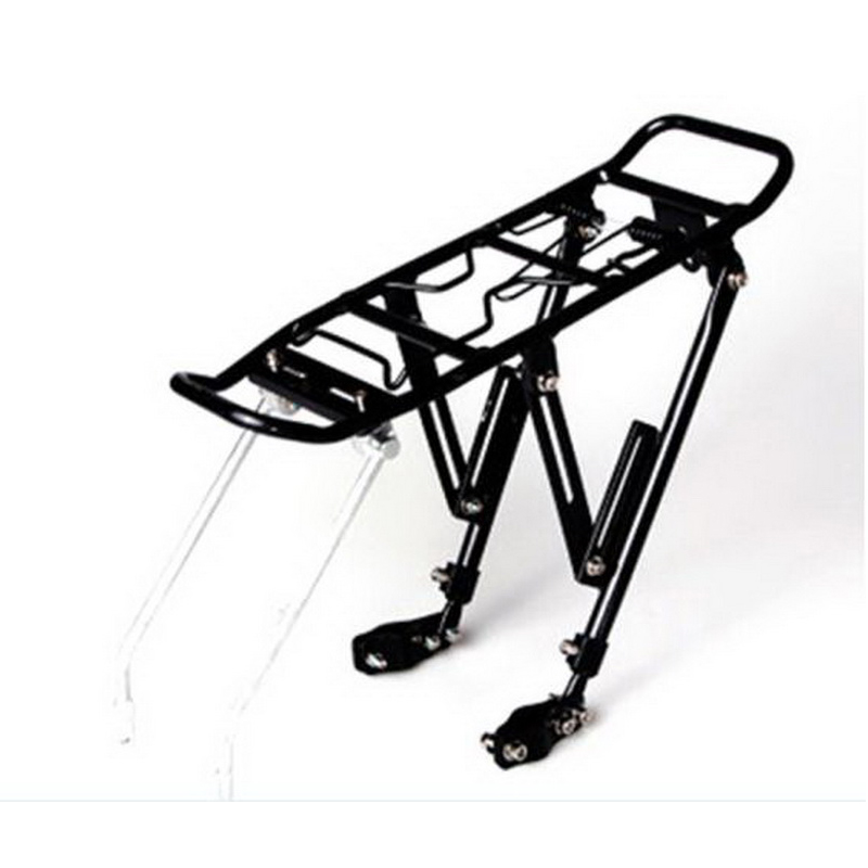 241014/Universal Adjustable Bicycle Mountain Bike Rack / Bicycle Rear / Carrier / Disc Brake Rack / Riding Equipment Accessories universal bike bicycle motorcycle helmet mount accessories