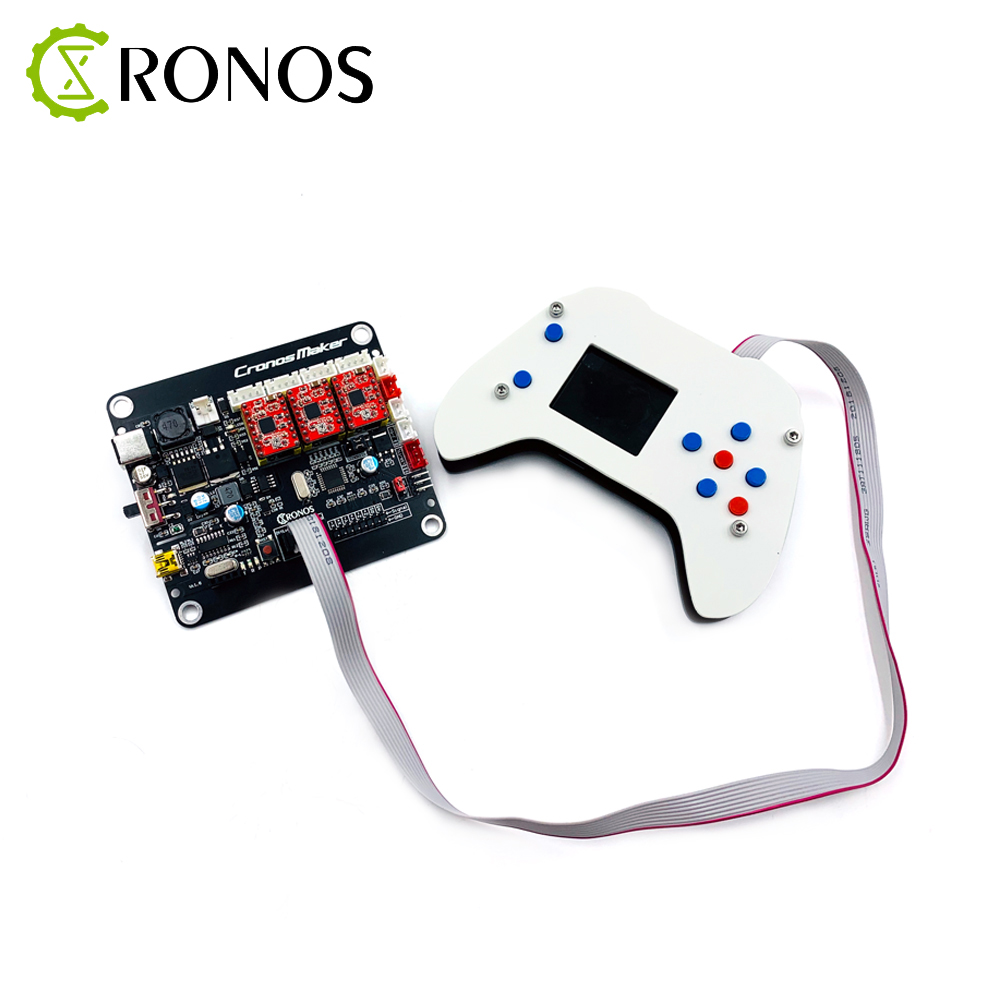 Upgrade GRBL 0.9 Or 1.1 Controller Control Board 3Axis Stepper Motor With Offline USB Driver Board For CNC Laser Engraver