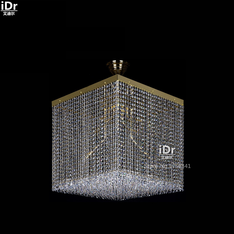 personality modern crystal lamp modern living room Terrace Hotel Ceiling Lights Bedroom lamp Hall