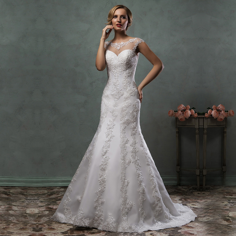 Ideas Super Sexy Wedding Dress popular super plus size wedding dresses buy cheap new arrival sexy see through white mermaid 2015 lace applique tulle bridal gowns
