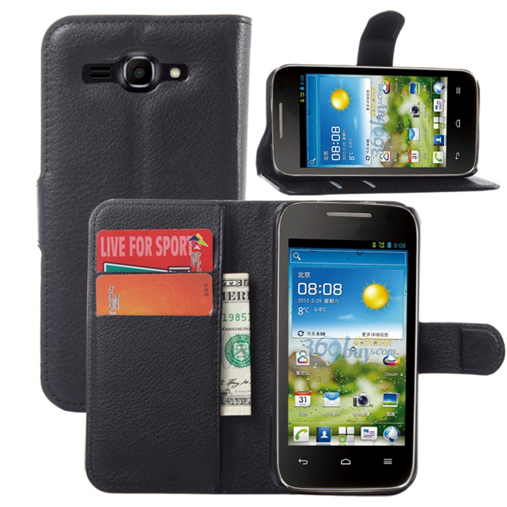 CYBORIS for Huawei Ascend Y520 Case Leather Phone Case for