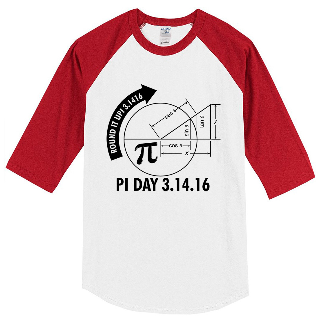 2018 summer T-shirts Pi Day 3.1416 Round It Up Math Graph STEM T-Shirt harajuku sportwear crossfit brand clothing raglan t shirt