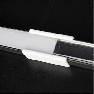 Image 5 - 10 30 סט\חבילה 2m 80 אינץ anodized שחור led אלומיניום פרופיל עבור 12/24v רצועת שטוח slim אלומיניום ערוץ, 90/180 תואר מחבר