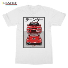 Mitsubishi Evo Evolution Vi 6 Tommi Makinen 4G63 Turbo Jdm Legend T Shirt T-Shirt 100% Cotton Summer Tees Printed T Shirts tommi