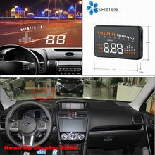 Car Computer Screen Display Projector Refkecting Windshield For SUBARU Forester Impreza WRX - Saft Driving