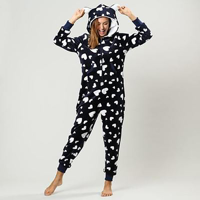 Hooded Sets Warm Pyjamas Onesie Women – 21JS