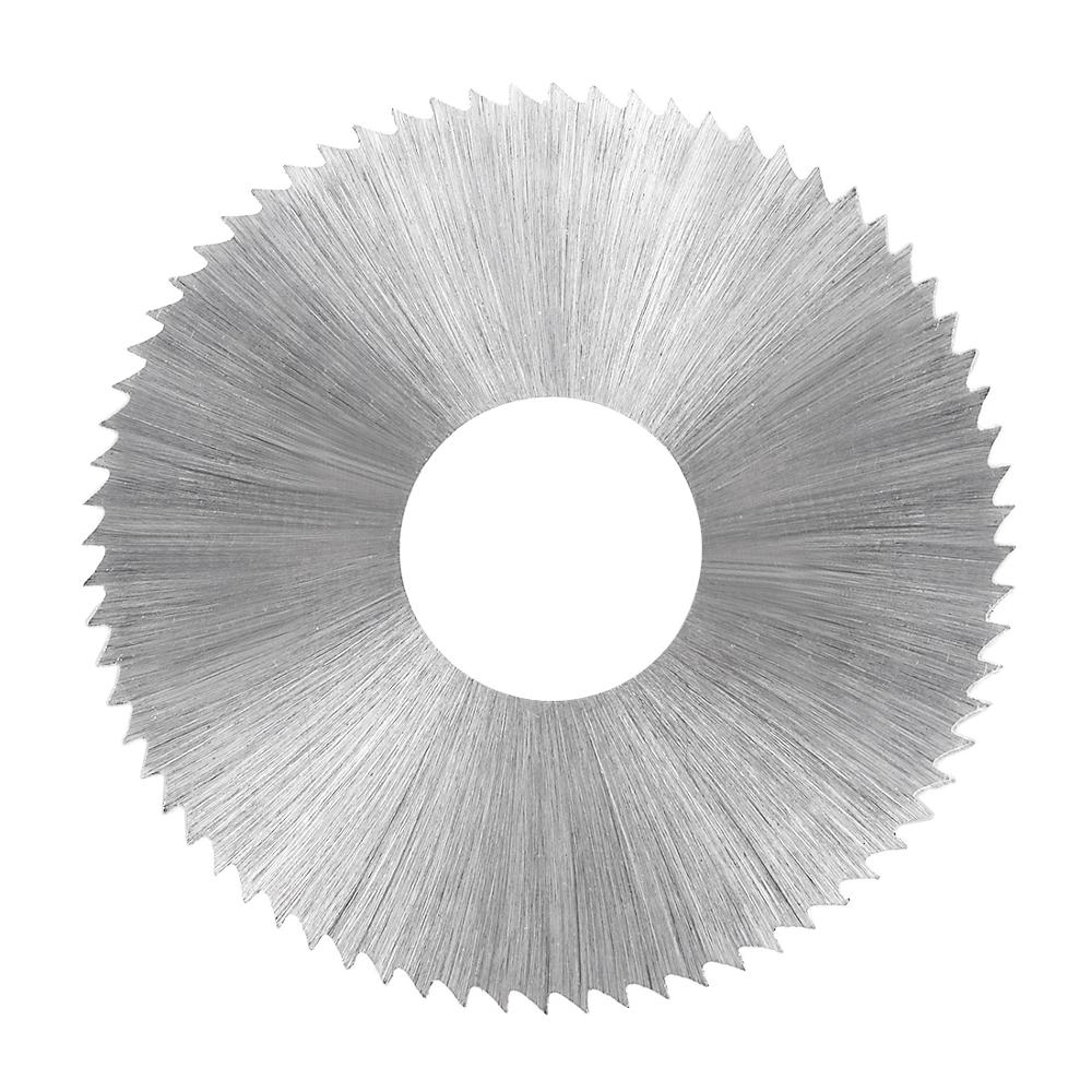 Uxcell 1pcs 72 Tooth HSS Saw Blade 60mm Circular Cutting Wheel W 16mm Arbor 0.3/0.4/0.5/0.6/0.8/1/1.2/1.5/2/2.5/3mm Thick