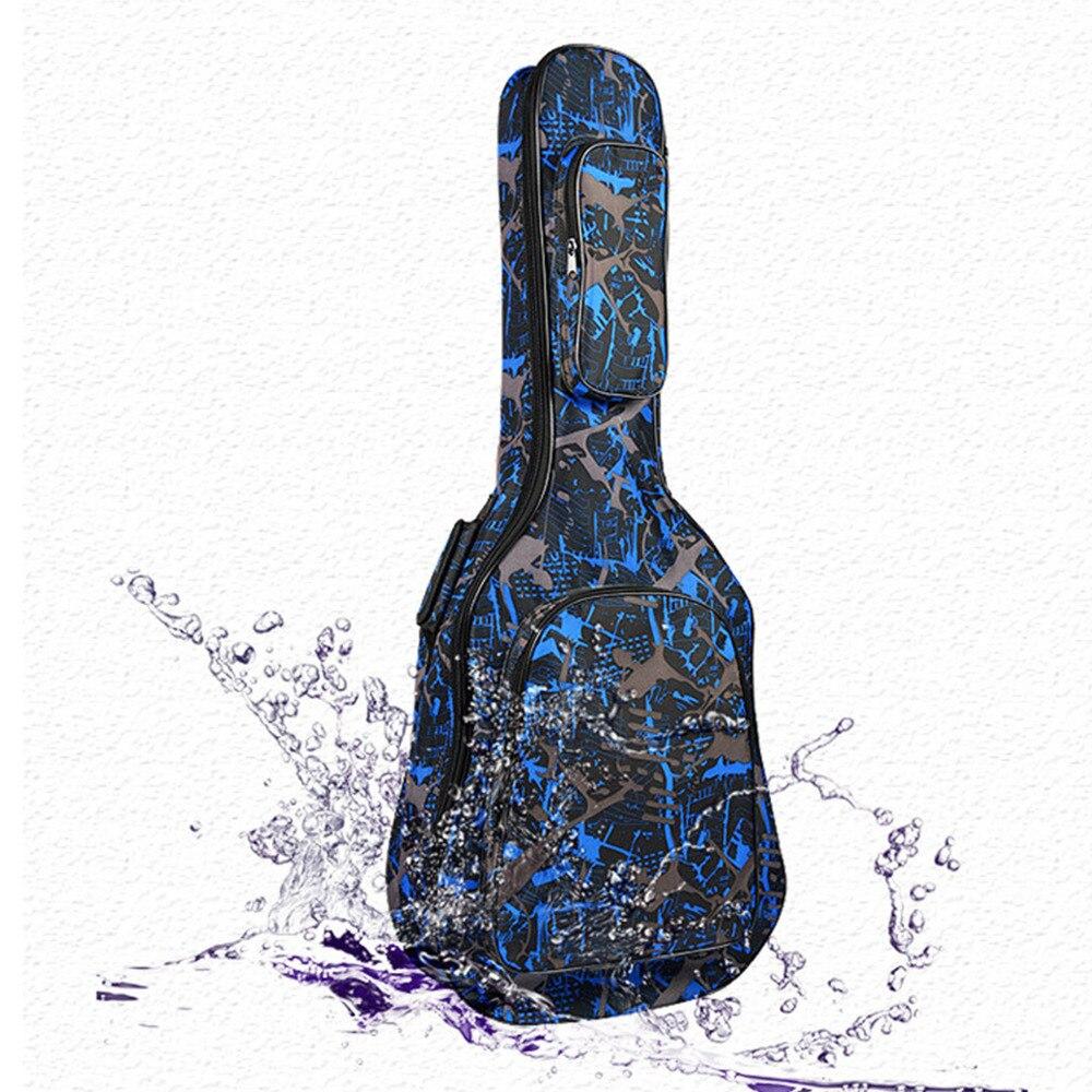 40/41 Sac de Guitare pour Guitare 600D Oxford Étanche En Bois Folk Guitare Cas avec Carring Bretelles 3 Style