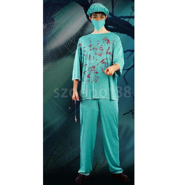 Blutige Labor Arzt Notfall Zimmer Kostüm Halloween Party Zombie ...