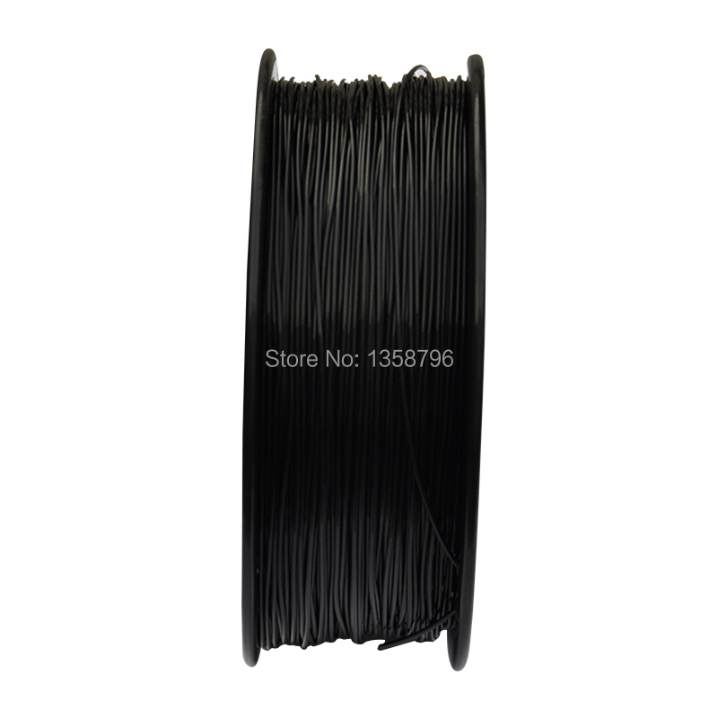 black color 3d printer filaments PA Nylon 1 75mm 3mm 1kg 2 2lb Plastics Resin Consumables