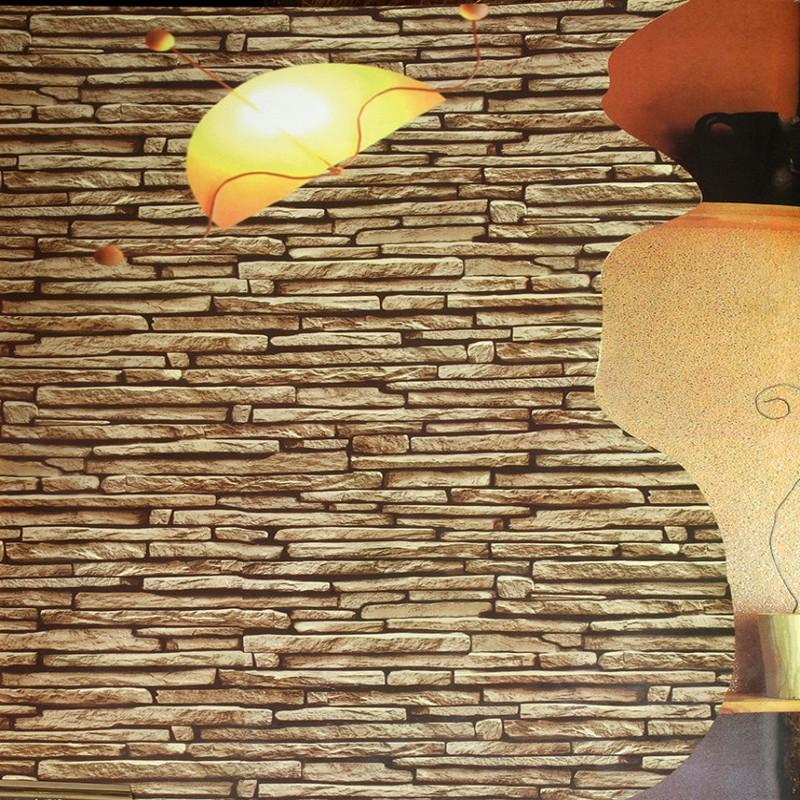 Free Shipping 3D stereo simulation stone wallpaper hotel living room restaurant entrance Chinese style wallpaper hotel harmony 3 прага