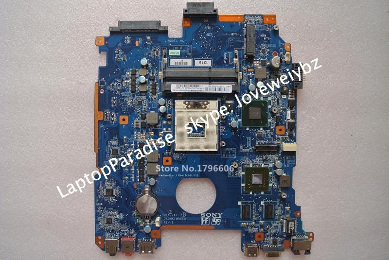 ФОТО For Sony Viao VPCEH VPC EH PCG-71912V 71911X 71913L Laptop Motherboard MBX-247 DA0HK1MB6E0 REV:E A1827703A A1827702A A1848625A